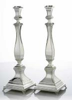 Hadad Sterling Silver Candlestick Set