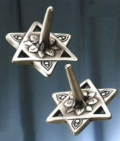 Star of David Dreidel