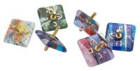 Fused glass Dreidels