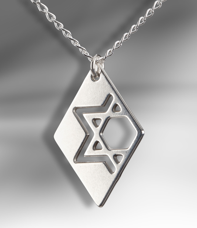 jewish star of David pendant