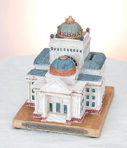 "Replica Charity Box ""Tlomakie Street"" Synagogue"